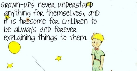 grownups quote